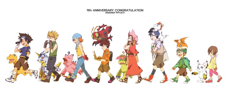 Digimon Adventure The Movie ดิจิมอนแอดเวนเจอร์ เดอะมูฟวี่ 1-7