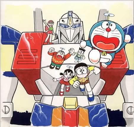 Doraemon The Movie (1986) สงครามหุ่นเหล็ก ตอนที่ 7 [พากย์ไทย]