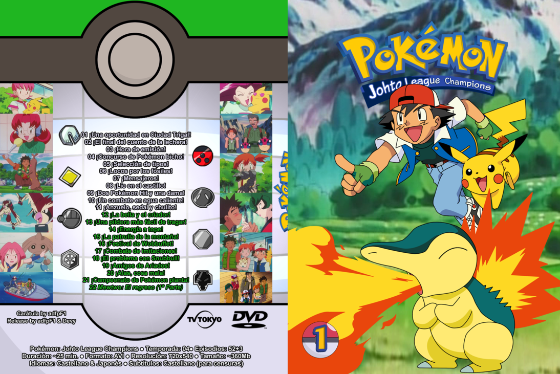 pokemon johto league ภาค4