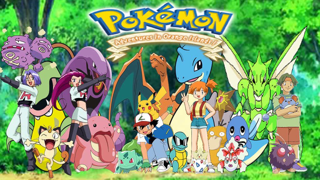 pokemon orange islands ภาค2