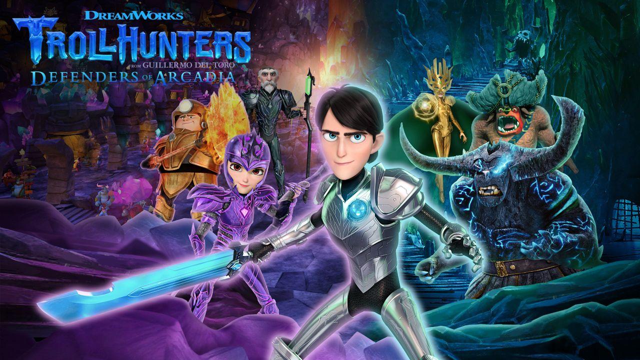 Trollhunters Tales of Arcadia โทรลฮันเตอร์