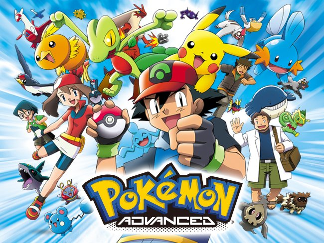 Pokemon Advanced ปี6-9
